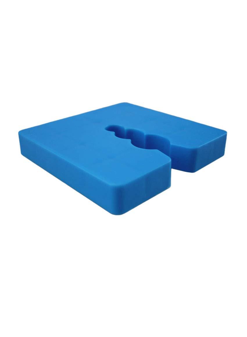 100 x Abstandhalter f/ür Sockelprofile 8 mm Abstandshalter Sockelprofile Unterlegscheiben Ausgleich Unebenheiten Ausgleichst/ück Distanzst/ück Sockelschiene PVC-Abstandshalter