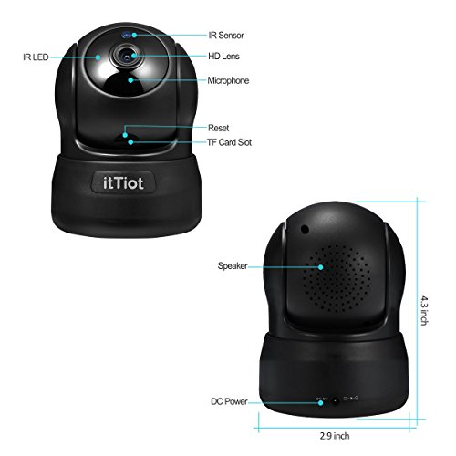 Review Wireless IP Camera, Home