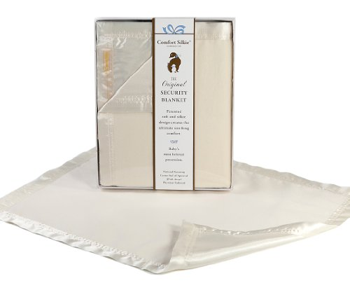 Comfort Silkie Satin (Creme COMFORT SILKIE Security Blanket ~ The Original. The Best. Award Winning.)