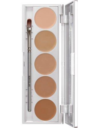 Kryolan HD Micro Foundation Cache Palette 5 Colors Makeup...