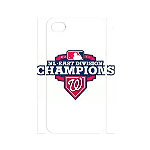 Warm Unique Own Baseball Team Logo Phone Cover Skin for Iphone 4/4s Case