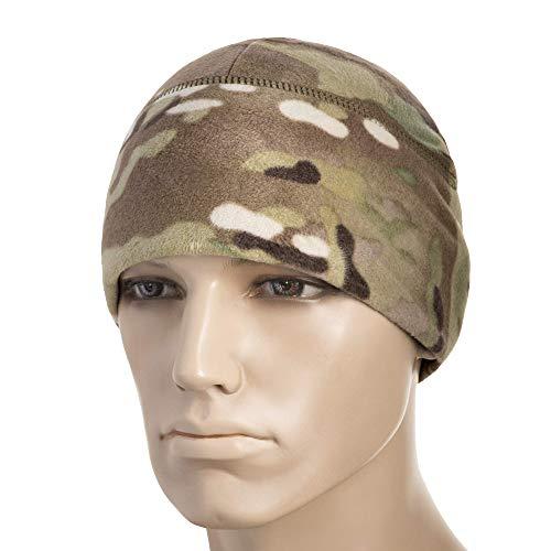 M-Tac Winter Hat Windproof Fleece 295 Mens Military Watch Skull Cap Tactical Beanie (Small, Camo)