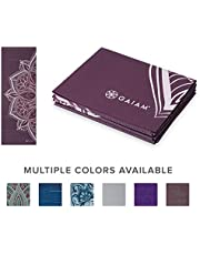 """Gaiam Yoga Mat Folding Travel Fitness & Exercise Mat 
