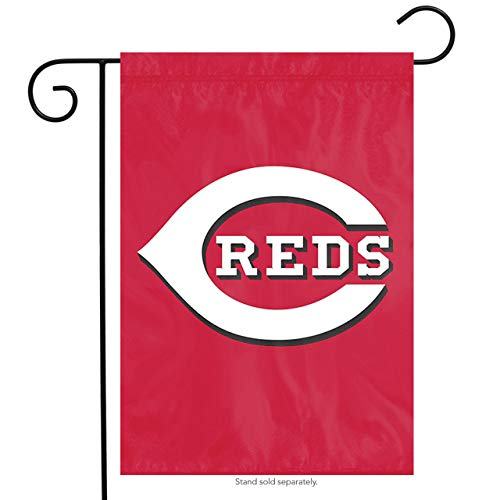 The Party Animal MLB Cincinnati Reds MLB Garden Flag, Red, 18