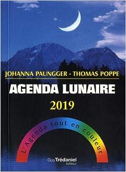 Agenda lunaire : L'agenda tout en couleur
