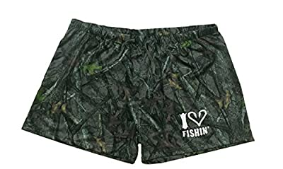 Women's and Teens Soft Camouflage Shorts For Sleeping, Pajamas, Lounging and More
