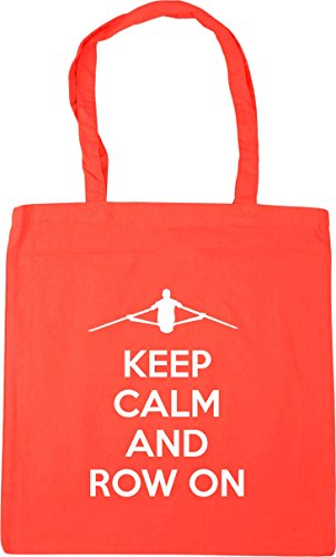 Keep Coral Beach Row HippoWarehouse On litres Gym Shopping And x38cm Calm 10 Tote Bag 42cm d6HBqF