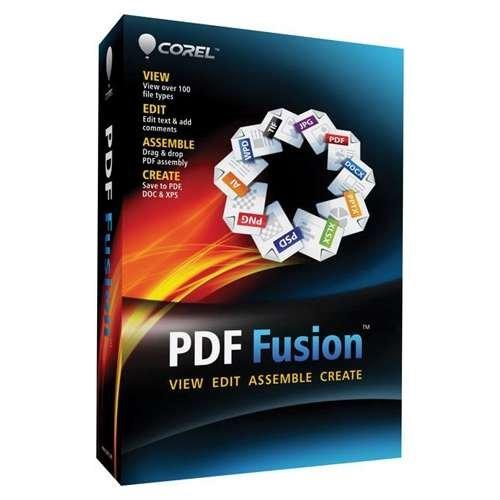 Corel PDF Fusion Software
