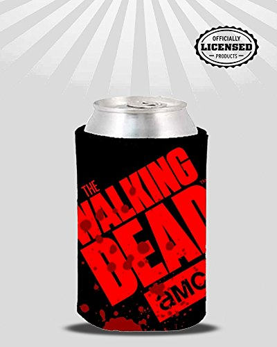 The Walking Dead Printed Drinking Tin Can & Beverage Holder (Walking Tin)