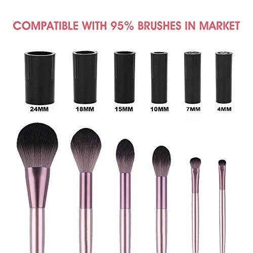 【USB Rechargeable, No Batteries Needed】Hangsun Makeup Brush Cleaner and Dryer Machine Electric Make Up Brushes Washing…
