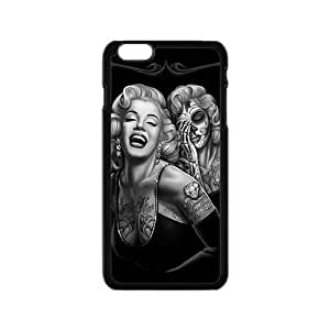SANLSI Marilyn skull Case Cover For iPhone 6 Case