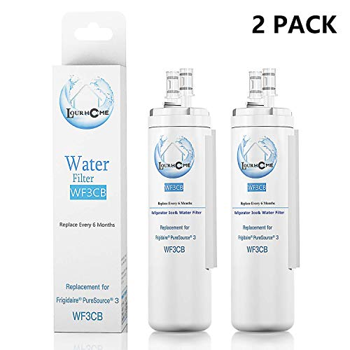 Price comparison product image Refrigerator Replacement Water Filter Compatible Cartridge for Refrigerators & Ice Makers WF-3-CB,  2-Pack