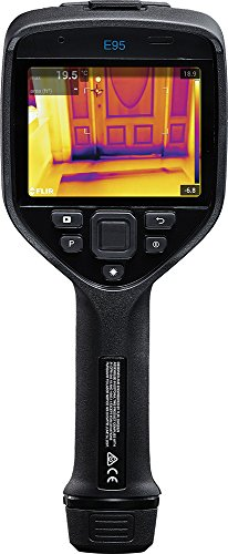 FLIR E95-KIT-24-14-42 Advanced Thermal Imaging Camera with 464 x 348 IR Resolution, 24, 14 and 42 Degree Lenses
