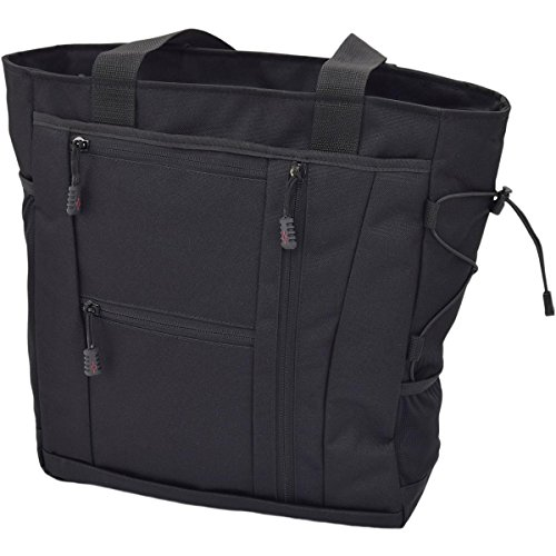 Flying Circle Deluxe Travel Tote Black