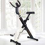 Folding-Magnetic-Bike-Fitness-Bike-Facile-ricevere-Spin-Bike-Sedia-a-rotelle-allInterno-pedalata-Cyclette-motorino-Tappeto