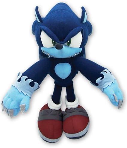 B0048WY6RO Great Eastern GE Animation Sonic The Hedgehog Werehog Plush (GE-8919) 41jOhsEYyML