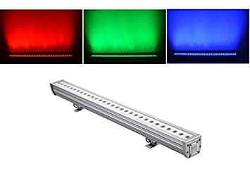 36x3w led wall washer lighting rgb 3in1 ip65 waterproof led wall