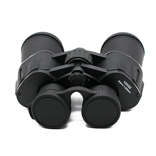 Nebula Optics 10x50 Wide Angle Binoculars For Adults - Best for Bird Watching, Hunting, Stargazing, Theater, Concerts - Ultra Wide Field of Vision with Coated Lens - 10x Zoom - - Warehouse Cheap