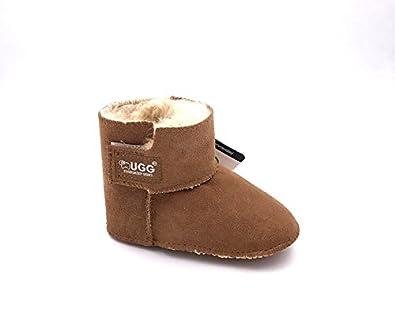 4be1fe89924 Australian UGG Sheepskin Baby Erin Shoes UGG Boot Boy Girl Winter ...