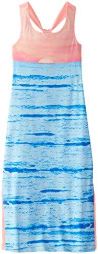 Kate Mack Big Girls' Sunset Maxi Dress, Blue, 14