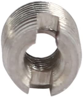 uxcell M2.5x6mm 304 Stainless Steel Self Tapping Slotted Thread Insert 10pcs