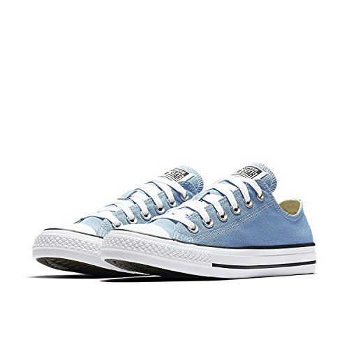 Converse Unisex Chuck Taylor All Star Low Top Pioneer Blue Sneakers - 7 B(M) US Women / 5 D(M) US Men