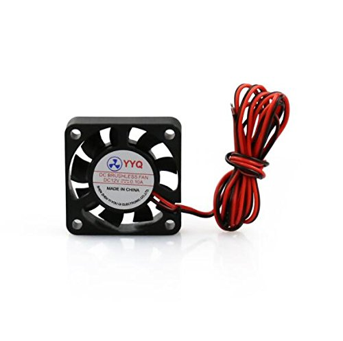 ALUNAR 12V 4010mm Cooling Fan for Computer Accessory or DIY Reprap I3 3D Printer Kit Spare Part Anet A6 (Power Supply Fan Assembly)