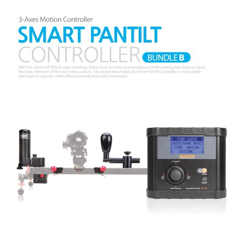 Konova Timelapse / Smart Motion Controller Bundle B for K3 80 by KONOVA