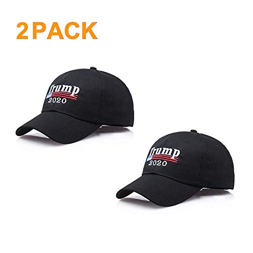 Afaston Keep America Great Hat, Donald Trump 2020 Presidential Election Cap- Adjustable Baseball Hats-Unisex (black1)