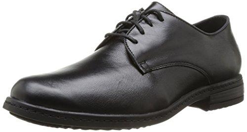 Josef Seibel Kevin 07 - Zapatos de cordones, color Schwarz 600, talla 45