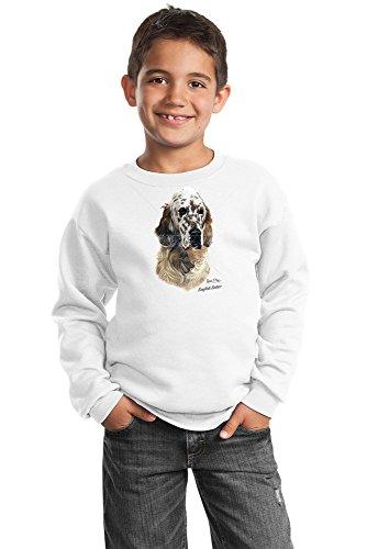 English Setter Youth Sweatshirt by Robert May