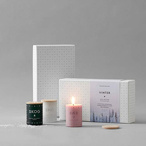 SKANDINAVISK Vinter (Winter) Mini Candle Gift Set 3 x 1.94 Oz by SKAN D · NA VISK (Image #2)