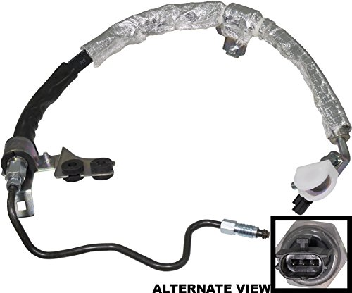 APDTY 139988 Power Steering Pressure Hose with Sensor Fits 2002-2006 Nissan Altima 3.5L 2004-2008 Nissan Maxima 3.5L (Replaces 49720-7Y000, 497207Y000)