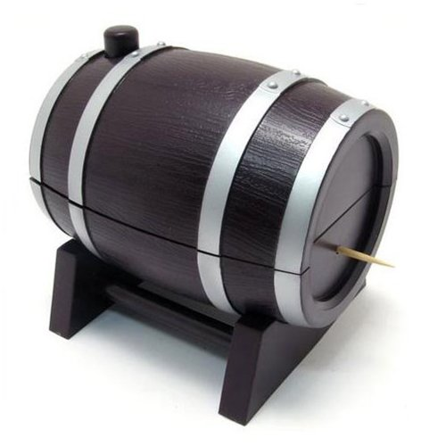 L-zone Warring States Wine Drum Toothpick Holder Toothpick Stand Gift