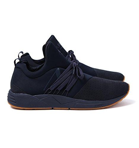 Arkk Copenhagen Sneakers Nubuck S-e15 Blu Gomma