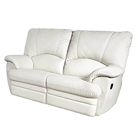 RR DESIGN Divano 2 posti Relax 2 recliner totali in ecopelle morbida ...