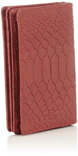 Bodenschatz Prato 4-877 PR 76 Damen Ausweis- & Kartenhüllen 8x11x2 cm (B x H x T) Rot (Tomato)