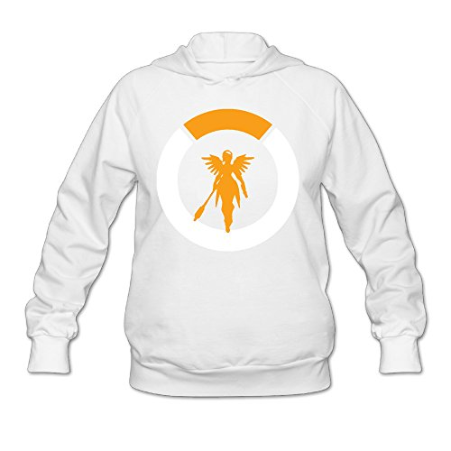 Price comparison product image Women's Overwatch Logo Hoodies White L