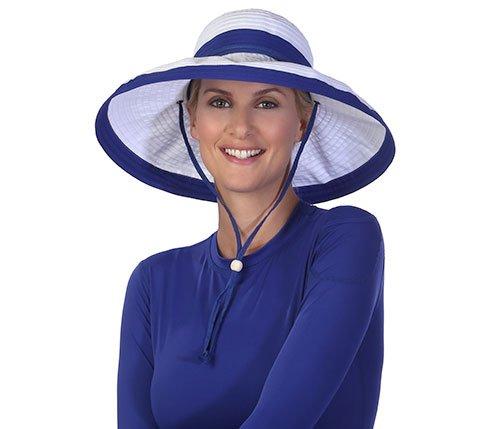 physician-endorsed-womens-gemini-white-royal-blue-hat