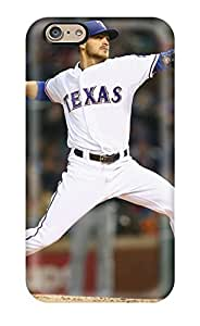 Tpu Case Cover Compatible For Iphone 6/ Hot Case/ Texas Rangers wangjiang maoyi
