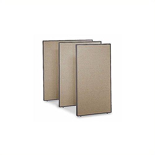 (Bush Business Furniture ProPanels - 66H x 36W Panel in Harvest Tan)