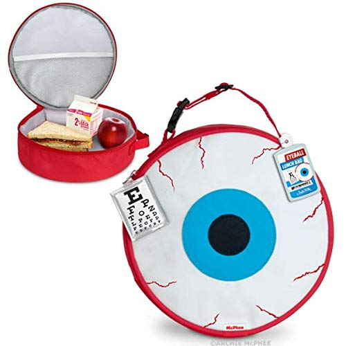 Accoutrements Eyeball Lunch Bag]()