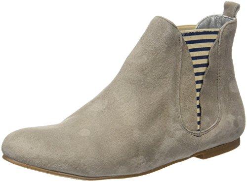 Chelsea Boots Ippon Vintage Damen Patch-flyboat Beige (ciment)