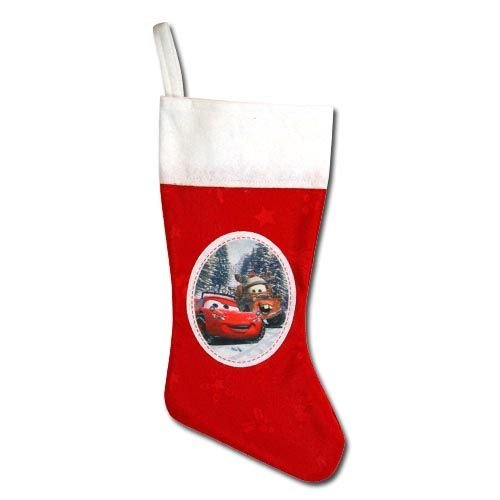 Disney Cars 18'' Felt Christmas Stocking with Patch & Hangtag