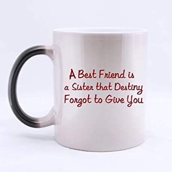 Amazon.com: Best Friends/Sisters Gifts Funny Quotes A Best ...