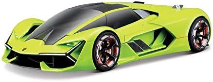 Bauer Spielwaren Bburago (18-21094) Lamborghini Terzo Millennio Modellauto im Maßstab 1:24, grün