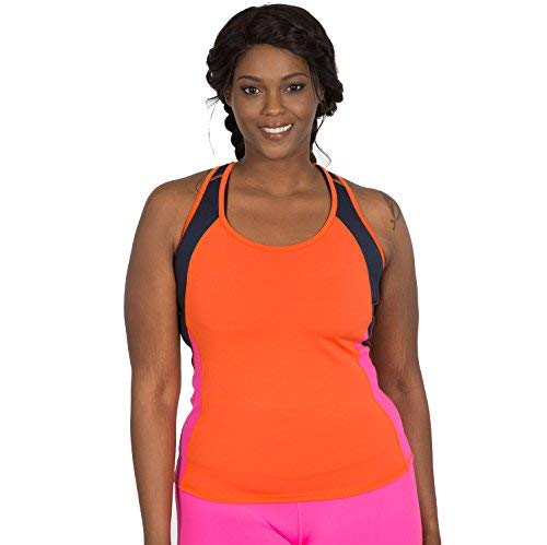 292245f82e4 Katie K Active Racerback Workout Top for Women - Plus Sizes Too - seen on  The