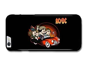 """AMAF ? Accessories ACDC Band Illustration Riding Car to 666 case for iPhone 6 Plus (5.5"""")"""