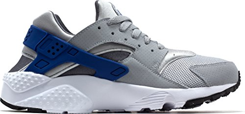outlet store f6c29 2077e nike huarache run (GS) trainers (Game Royal-Dark Grey, 4.5y)