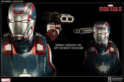 Sideshow Collectibles Iron Patriot Iron Man Life-Size -